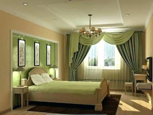 Цветът на завесите в спалнята