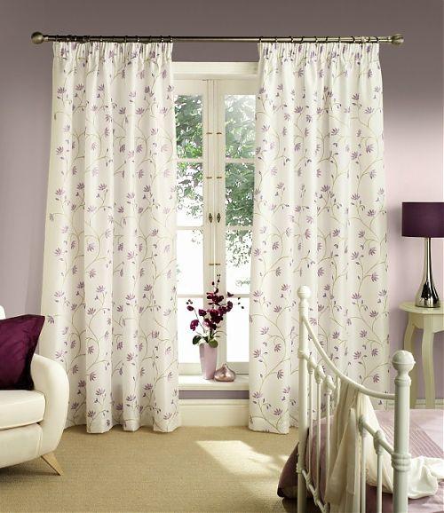 Красиви завеси в спалнята