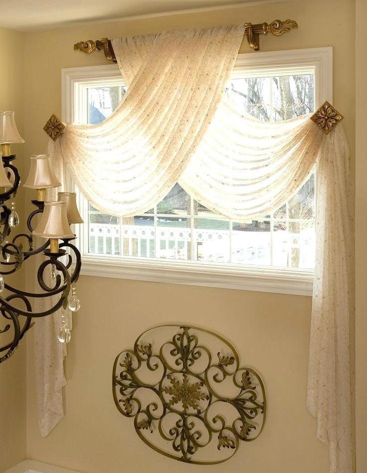 Декорът на завесите в спалнята