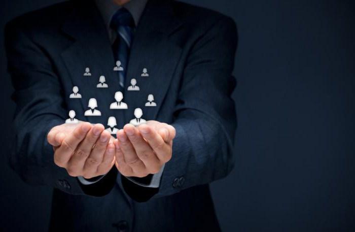 фокусът на клиентите на персонала