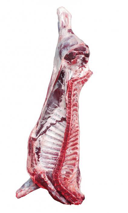 Rezanje goveđeg trupa