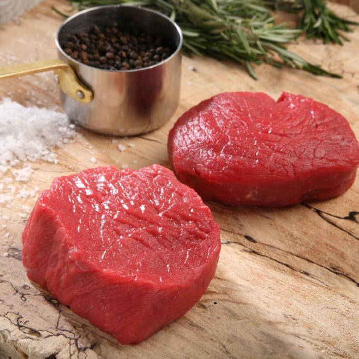 Rezanje goveđih trupova po stupnju