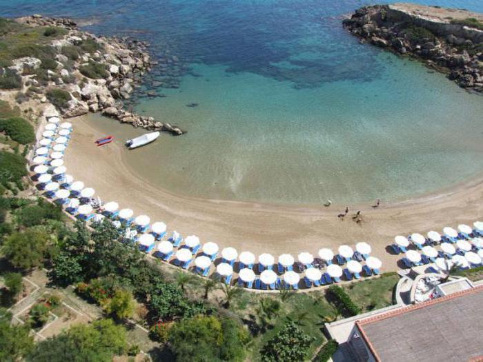 recensioni di spiagge di Cipro