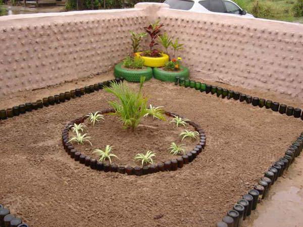 DIY градинска украса