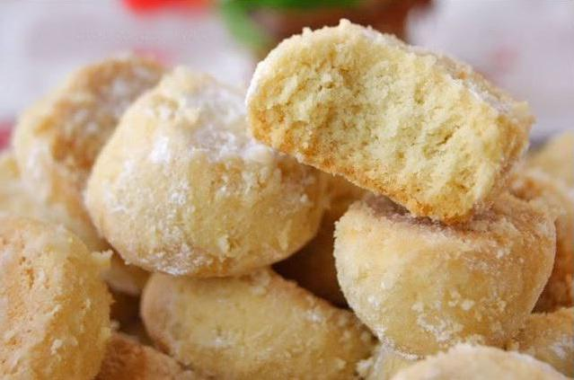 ricetta friabile di biscotti