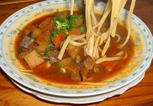 zuppa di agnello