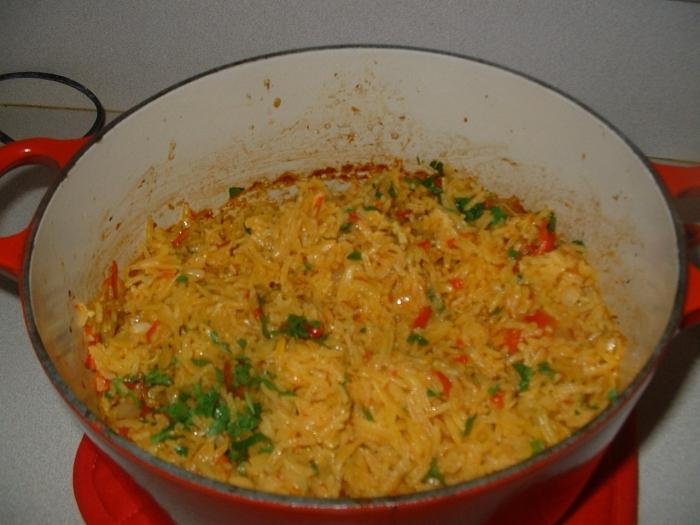 pilaf in forno