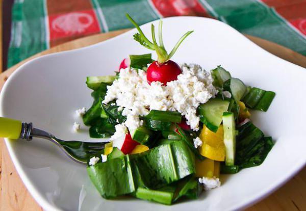 Recept zelene solate