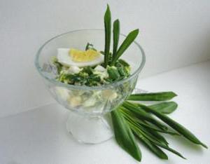 Zelene solate recepti s fotografijami