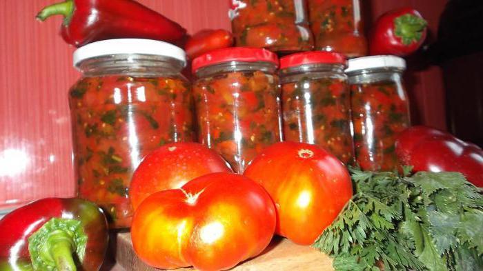 insalata di pomodori rossi per le ricette invernali