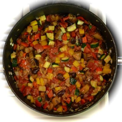 cucinare piatti di verdure
