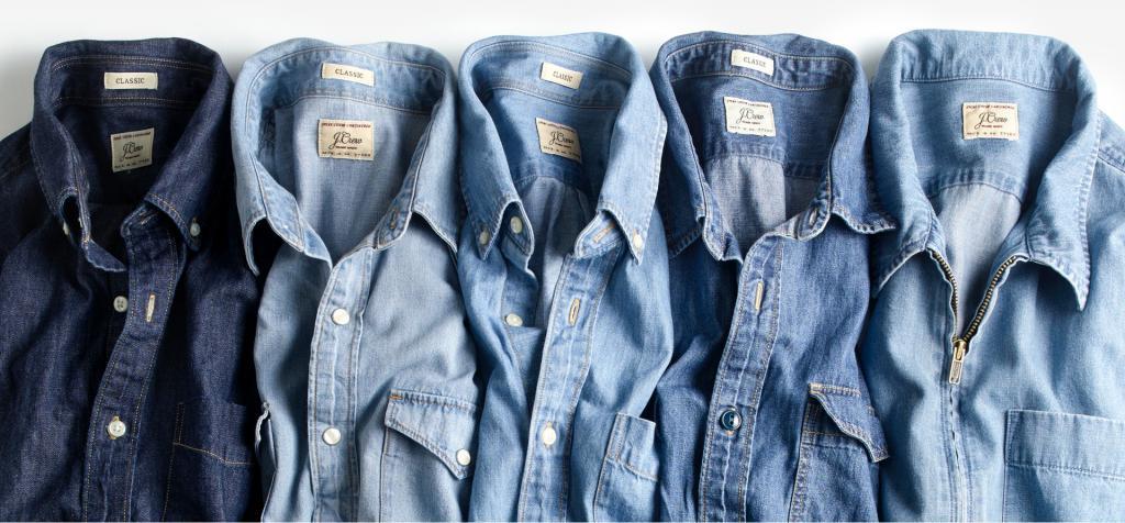 Camicie di jeans