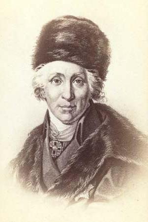 Prima delle dimissioni, Gavriil Romanovich Derzhavin amava