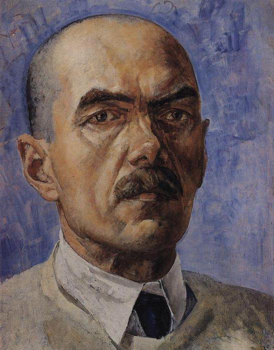 Опис слике јутарњи живот Петрова Водкин