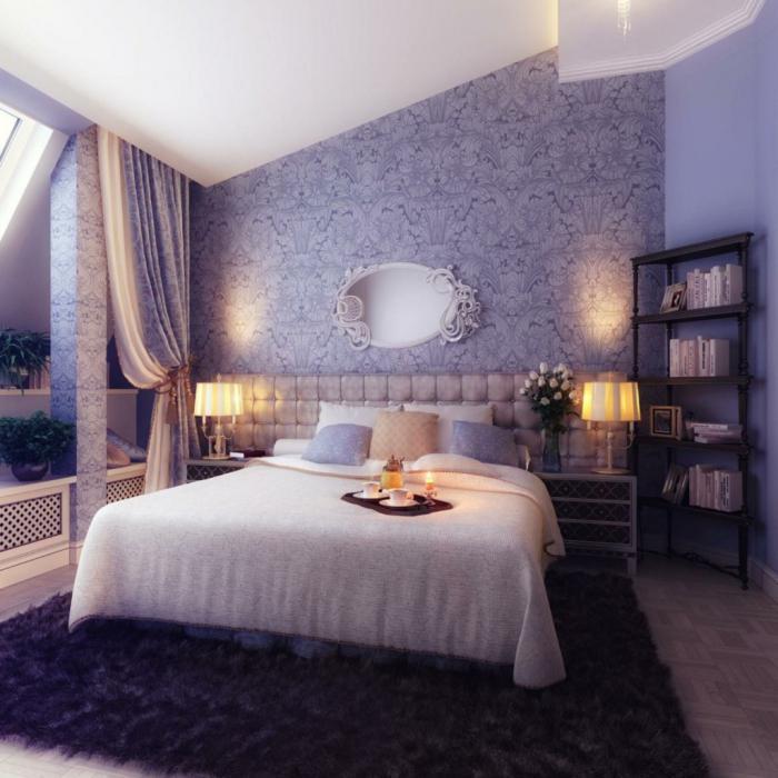 oblikovanje sten v spalnici