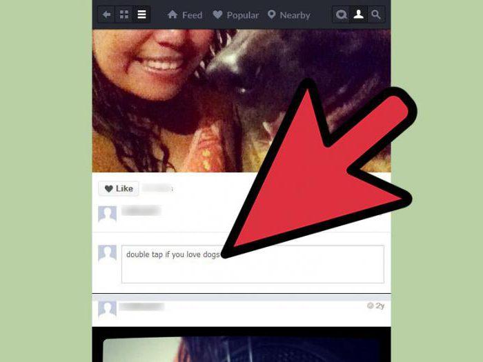kako postaviti nasmehe v instagramme