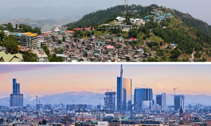 развијеним и земљама у развоју