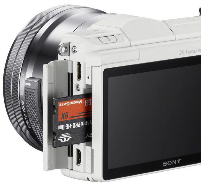 fotoaparat sony alpha a5000