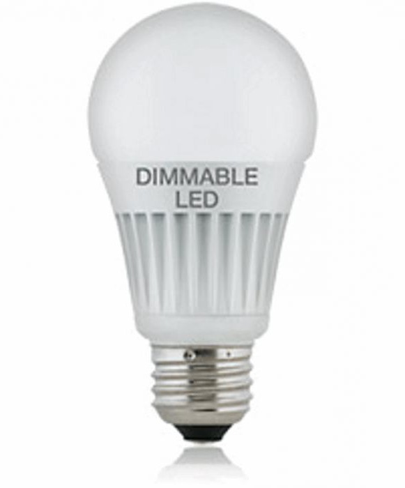 luci a led tramite dimmer