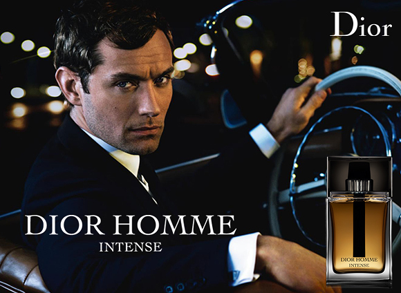 Dior Homme Intense Advertising
