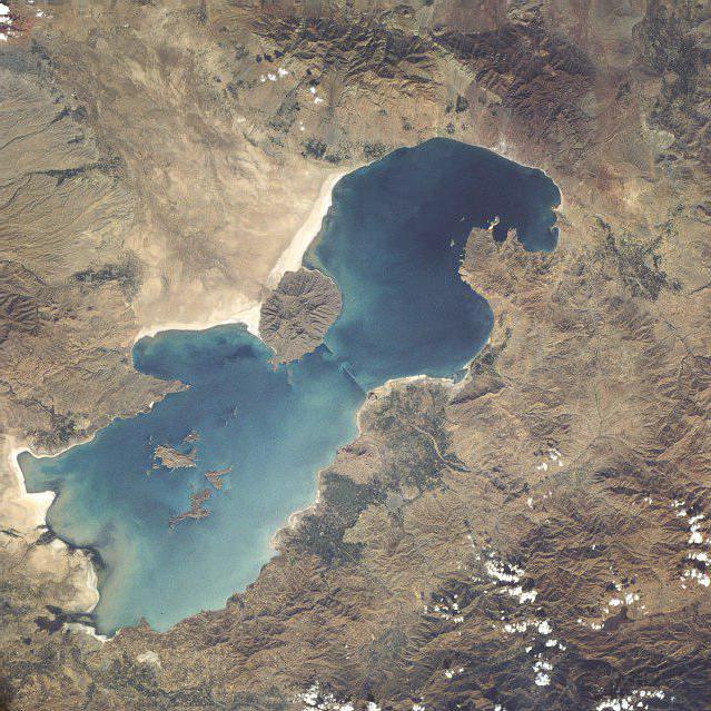 Temperatura media del lago Urmia