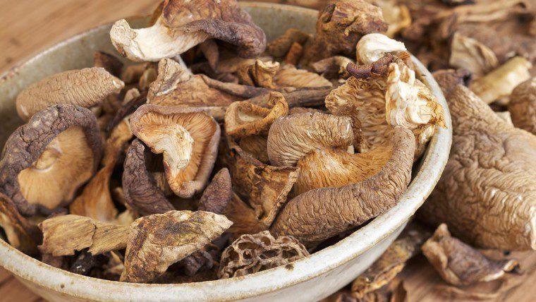 Funghi secchi di patate