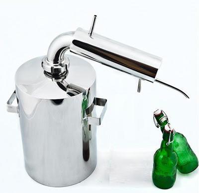 improvizirana destilacijska kolona