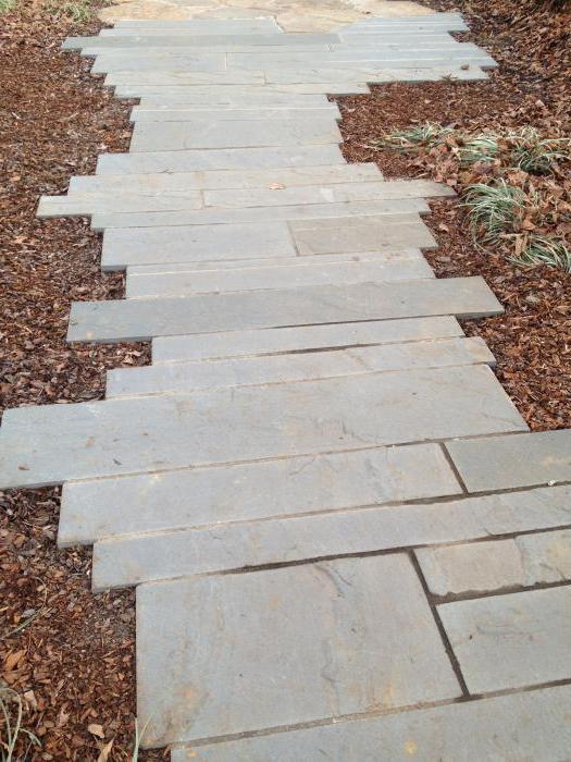 градинска пътека с бетон го направете сами