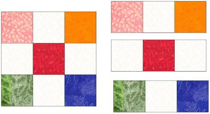 zrób to sam patchwork 9 łatek