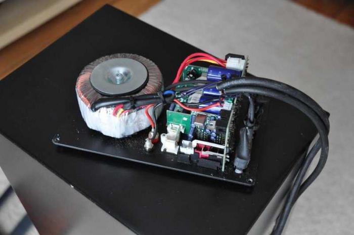 Suono dell'amplificatore fai da te transistor
