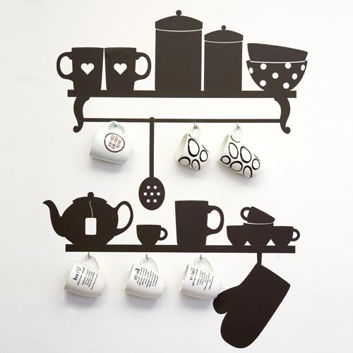 Стенен декор в кухнята