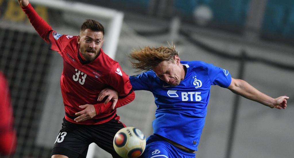 Dmitrij Belorukov kao dio Dynamo Moscow