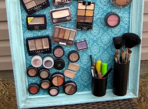 zrób to sam organizator kosmetyków
