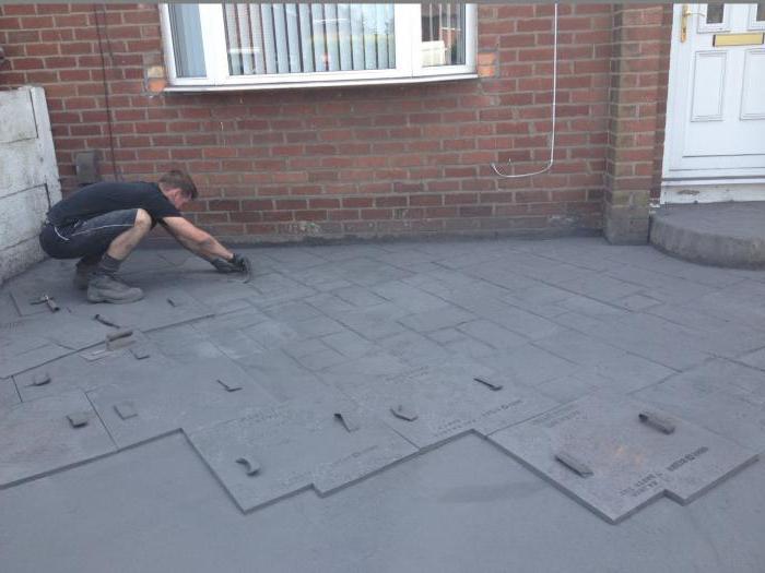 штампани бетон