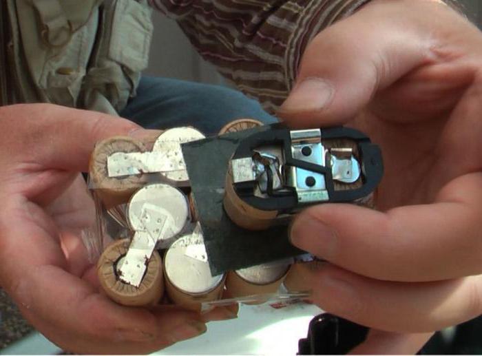 Opravte bateriový šroubovák sami