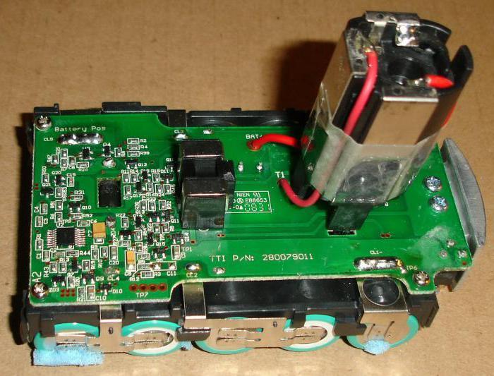 Opravte šroubovák s lithiovými bateriemi