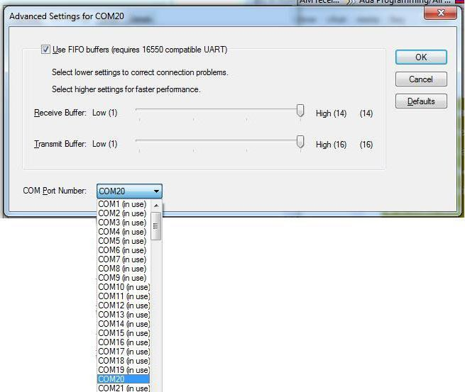 Кабелен адаптер USB RS232 DB9 COM