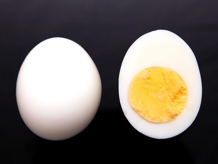 Колико тежи кувано пилеће јаје