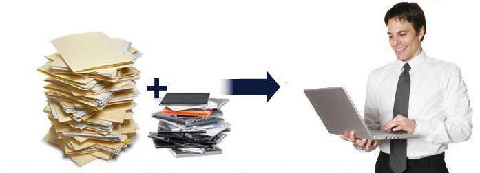 Sistema elettronico di gestione dei documenti