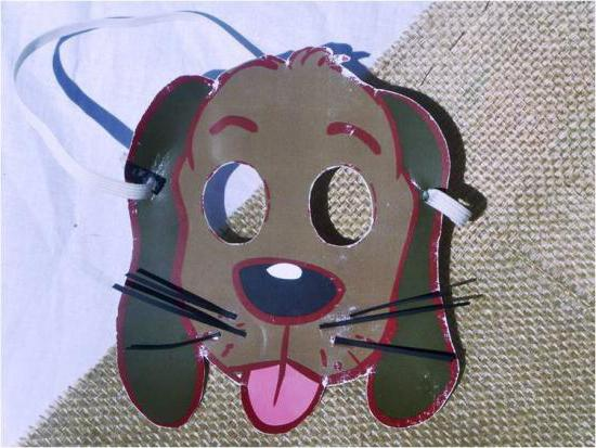 maschera per cani
