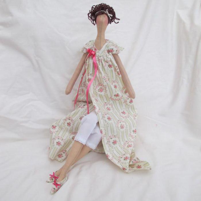 cucire bambola angelo tilda