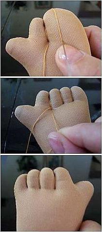 kako više šivati lutku