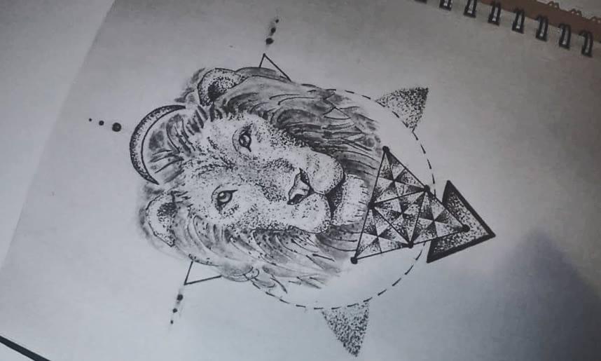 Skica tatoo doodok