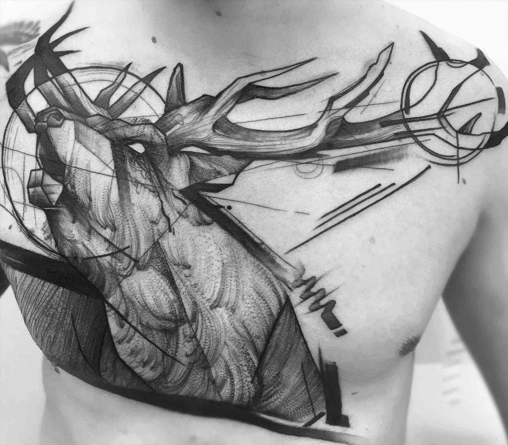 Tetovaža na prsih