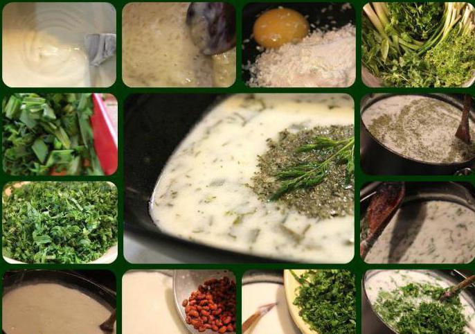 Dovga azerbejdžanski recept s fotografijama