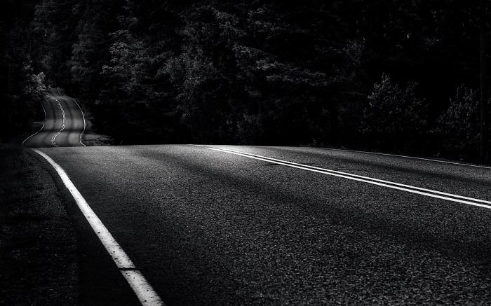 što san o cesti automobilom
