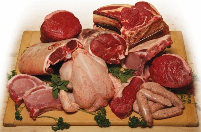 спавати сирово месо