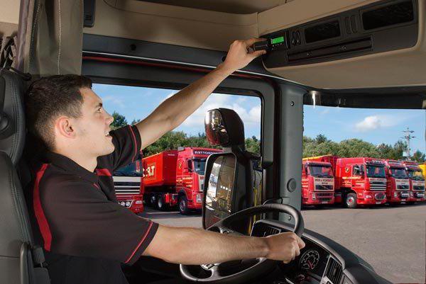 tachografová karta pro řidiče, kam se dostanete