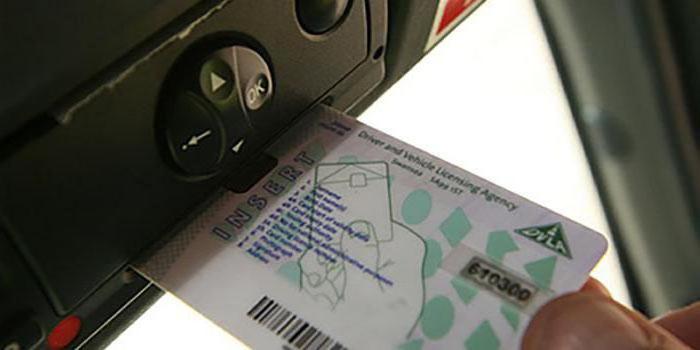 karta řidičů