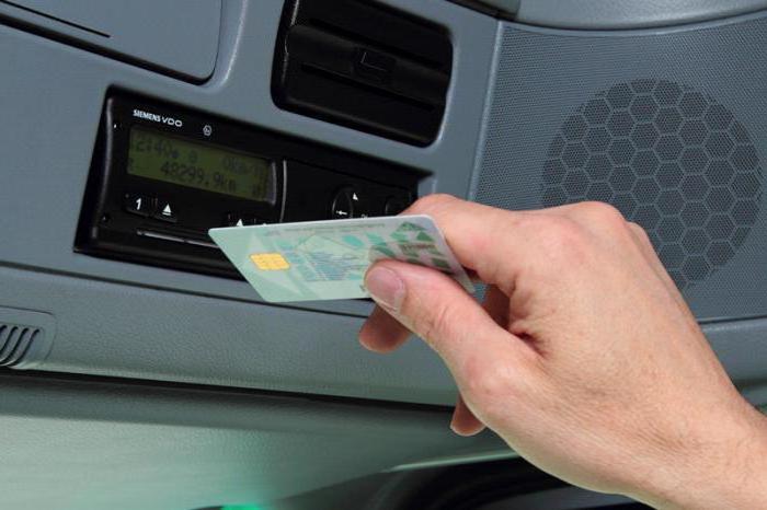 karta řidičů tachografů